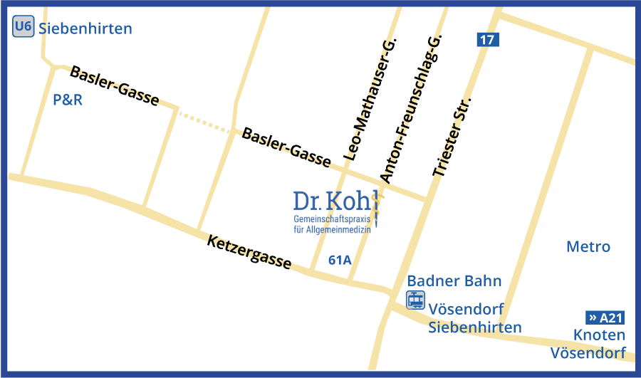 Stadtplan Dr Kohl